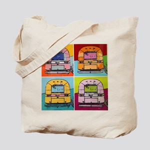 Airstream Pop Art painting Tote Bag