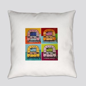 Airstream Pop Art painting Everyday Pillow