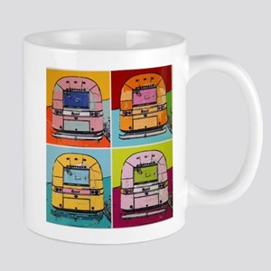 Airstream Pop Art painting Mugs
