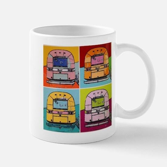 Airstream Pop Art painting Mugs