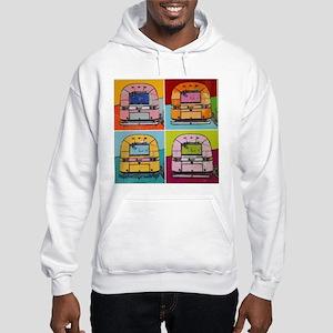 Airstream Pop Art painting Sweatshirt