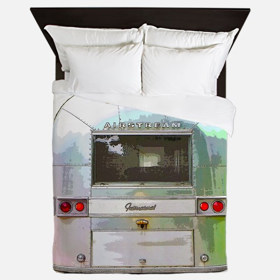 Vintage Airstream Collection Queen Duvet