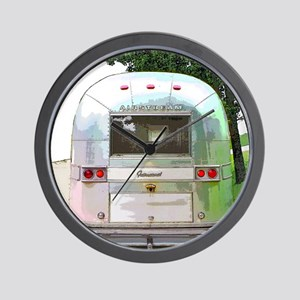 Vintage Airstream Collection Wall Clock