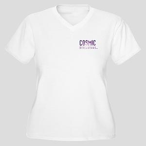 CosmicDisclosure.com Plus Size T-Shirt