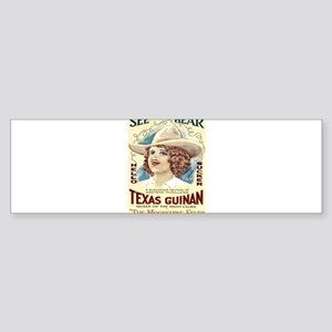 Vintage poster - The Moonshine Feud Bumper Sticker