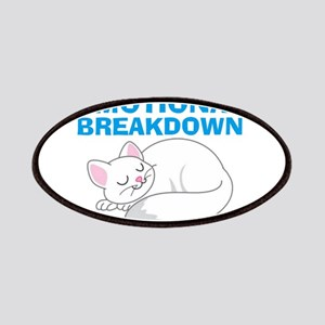 In the event of Emotional Breakdown Cat Patch