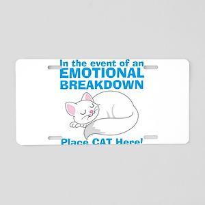 In the event of Emotional Breakdown Cat Aluminum L