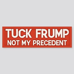 Not My Precedent Sticker (Bumper 10 pk)
