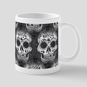 New Skull allover pattern Mugs