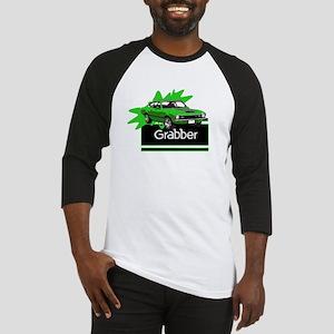 Grabber Green Maverick Baseball Jersey