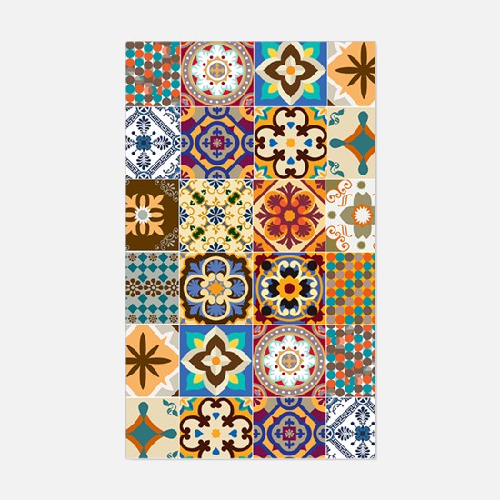 Funny Tiles Sticker (Rectangle)