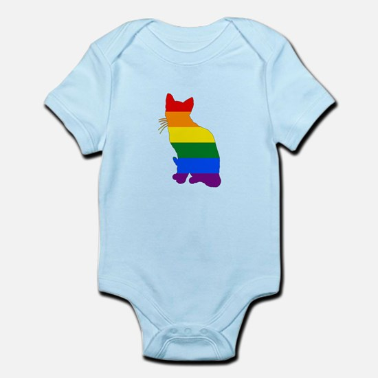 Rainbow Cat Body Suit