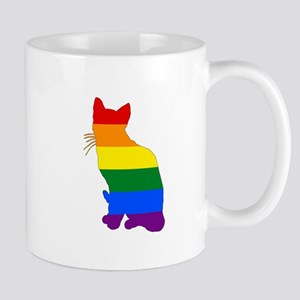 Rainbow Cat Mugs