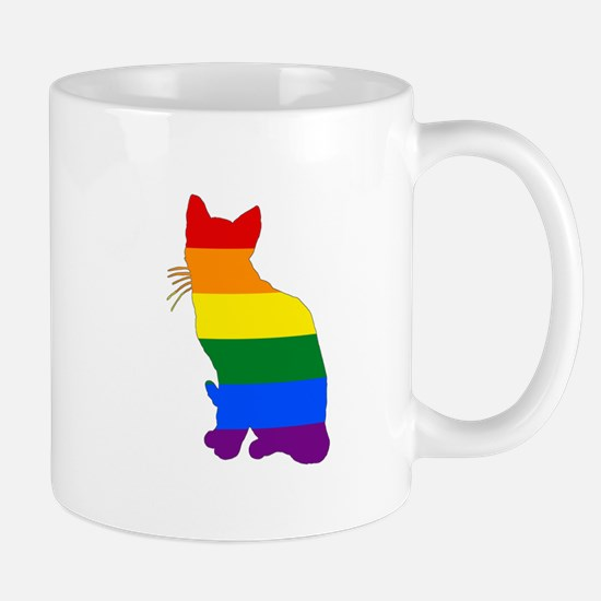 Rainbow Cat Mugs