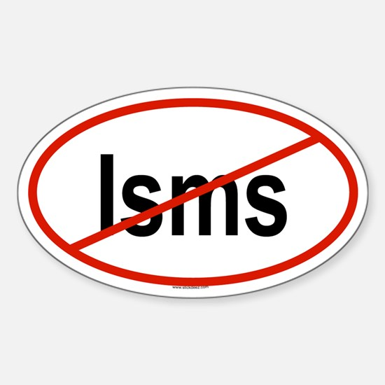 ISMS Oval Decal