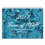 2017 Faces Of Cdh Calendar Wall Calendar