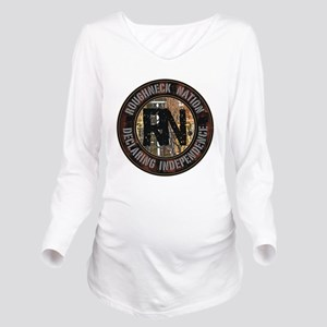 AUSTRALIA RIG UP CAM Long Sleeve Maternity T-Shirt