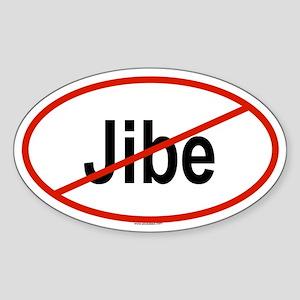 JIBE Oval Sticker