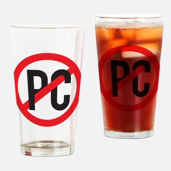 Anti PC Drinking Glass