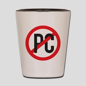 Anti PC Shot Glass