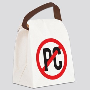 Anti PC Canvas Lunch Bag