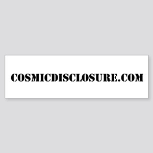 Cosmic Disclosure Bumper Sticker