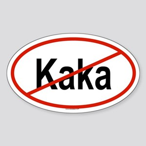 KAKA Oval Sticker