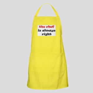 chef always right Apron