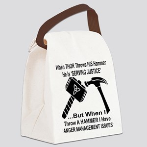 Anger Management Issues Canvas Lunch Bag