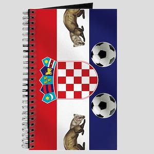 Croatian Football Flag Journal