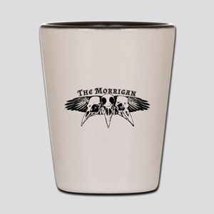 The Morrigan Shot Glass