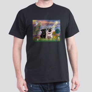 Cloud Angel & 2 Pugs T-Shirt