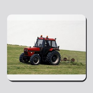 A Red Tractor On The Go Mousepad