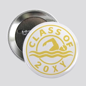 """Class of 20?? Swimming 2.25"""" Button"""