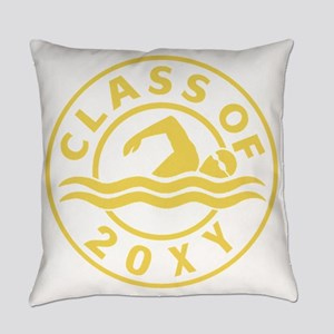 Class of 20?? Swimming Everyday Pillow