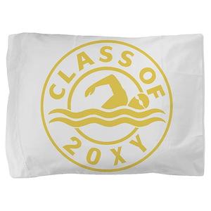 Class of 20?? Swimming Pillow Sham