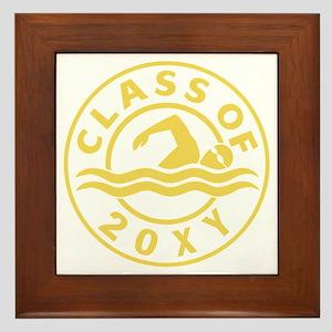 Class of 20?? Swimming Framed Tile