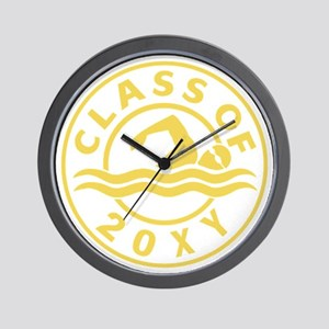 Class of 20?? Swimming Wall Clock