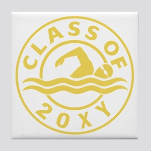 Class of 20?? Swimming Tile Coaster