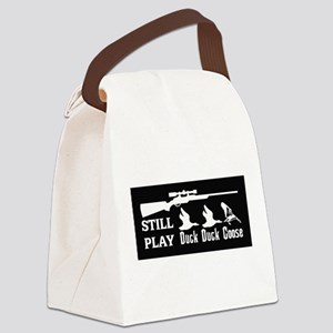 Duck Duck Goose Canvas Lunch Bag