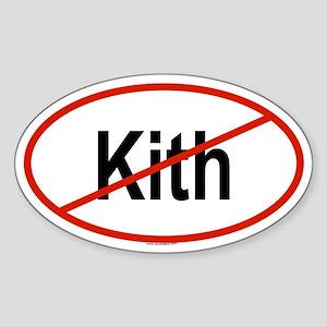 KITH Oval Sticker