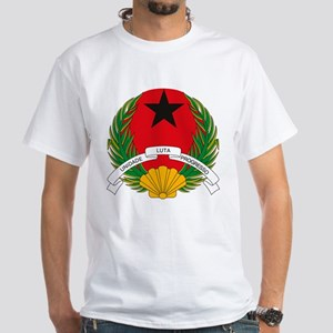 Guinea Bissau Coat of Arms White T-Shirt