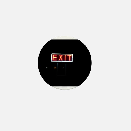 Night Exit Mini Button