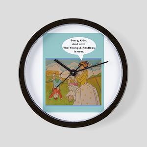 Tv Shows The Odd Couple Wall Clocks - CafePress