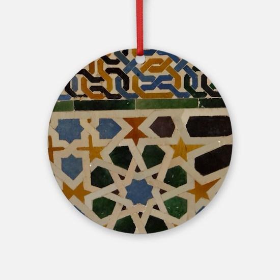Cute Granada Round Ornament