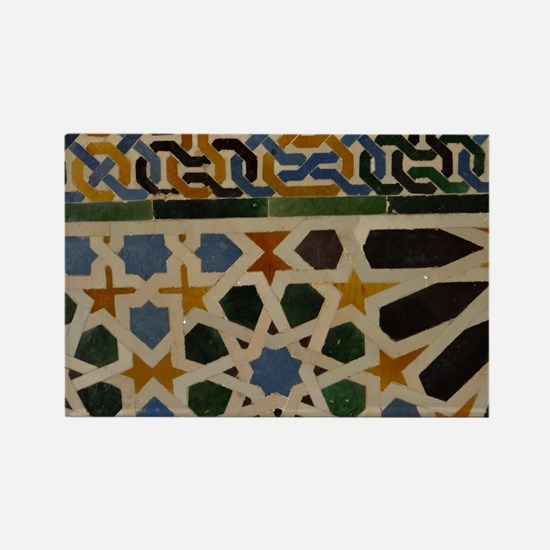 Cute Alhambra Rectangle Magnet
