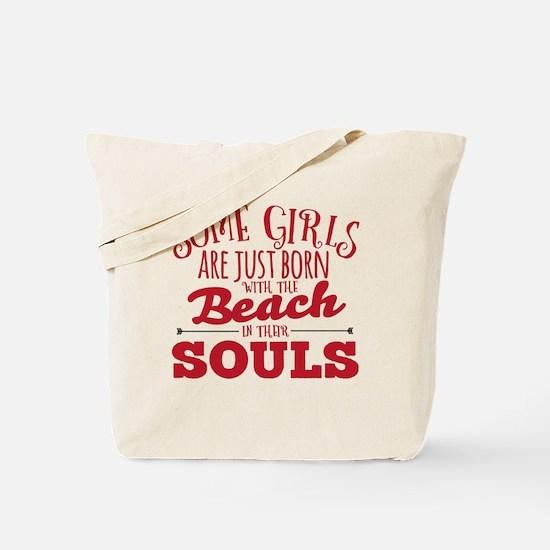 Cute Beach Tote Bag