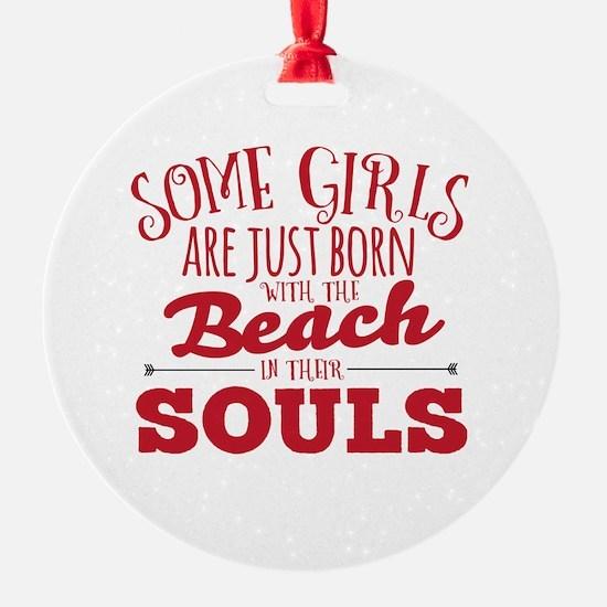 Funny Beach Ornament