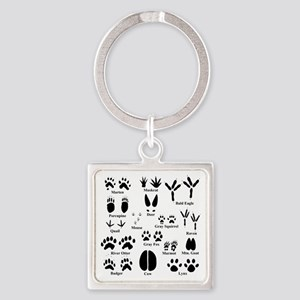 Animal Tracks Collection 1 Keychains