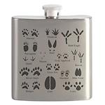 Animal Tracks Collection 1 Flask
